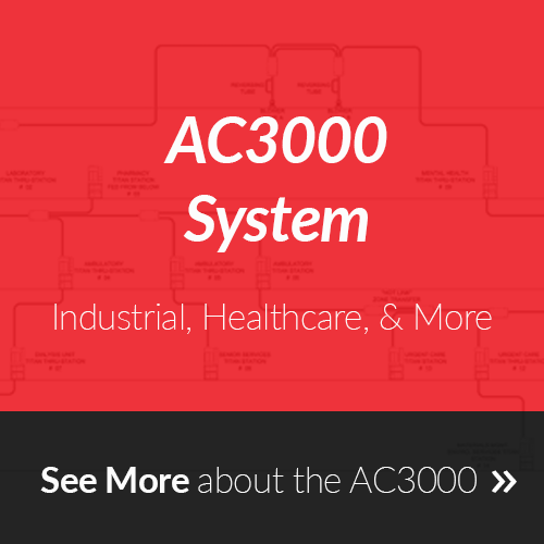 AC3000 Pneumatic Tube System
