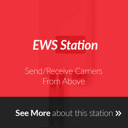 EWS Station for Pneumatic Tube Systems