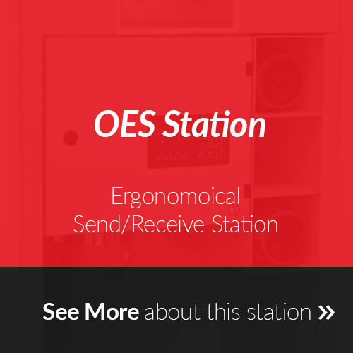 OES Station for Pneumatic Tube Systems